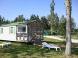 Rental - CONFORT+ Mobile home 2 bedrooms 24m² sheltered terrace -  Lakeview - Campilô