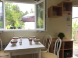 Rental - CONFORT Mobile home 2 bedrooms 28m² + terrace - Lakeview - Campilô