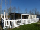 Rental - CONFORT+ PREMIUM Mobile home 2 bedrooms 48m² + TV + air-conditioning + Terrace - Campilô