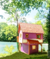 Rental - House Of The Crazy Magician - Capfun - Domaine FredLand