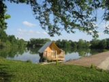 Rental - Hut Of The Lake Glamour - Camping Sites et Paysages SAINT-LOUIS