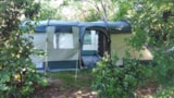 Rental - Tente Equipee Noisette - Camping Sites et Paysages SAINT-LOUIS