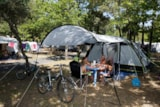 Pitch - Package Pitch + 1 Vehicle + Tent Without Electricity - IDEAL CAMPING