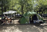 Pitch - Package Pitch + 1 Vehicle + Tent - IDEAL CAMPING