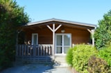 Rental - Chalet Sapin Premium 2 Bedrooms + Sheltered Terrace - Camping L'Ambois