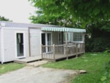 Rental - Mobile Home Premium 3 Bedrooms + Terrace (Air-Conditioning) - Camping L'Ambois