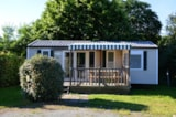 Rental - Mobile Home Confort 3 Bedrooms + Sheltered Terrace - Camping L'Ambois