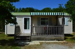 Mobile Home Confort 2 Chambres + Terrasse Couverte