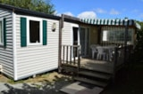 Rental - Mobil Home Premium 2 Bedrooms + Sheltered Terrace - Camping L'Ambois