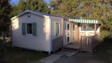 Rental - Mobile home Premium 3 bedrooms + sheltered  terrace - Camping L'Ambois