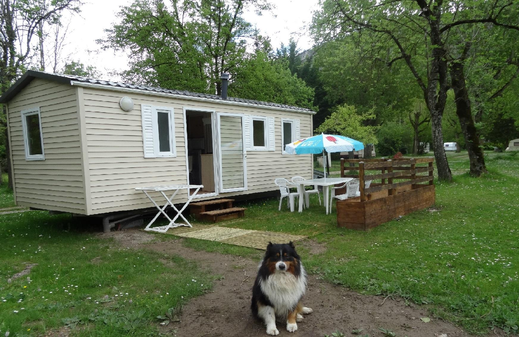 Location - Mobilhome Sun Roller - Camping Le Clos des Peupliers