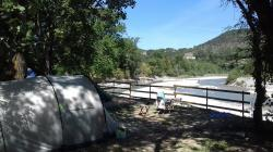 Pitch - Exclusive Tent Pitch Drome Riverside - Camping les Chamberts
