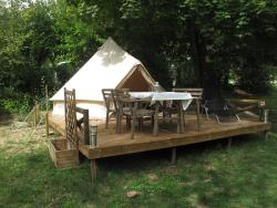 Tente Glamping Sibley