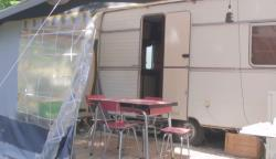 Rental - Vintage Caravan From The 60'S - Camping les Chamberts