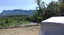 Pitch - Eclusive Pitch With River And Mountain View Caravan, Tent Or Campers - Camping les Chamberts