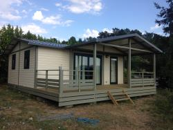 Location - Chalet Grand Standing - Camping Plein Sud