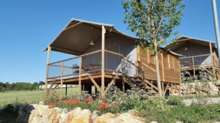 On Piles Cabane Lodge 34M²  (2 Bedrooms) + Sheltered Terrace 10 M²