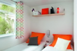 Rental - Mobil home Family Confort+ 32 m²  (3 Bedrooms) + sheltered terrace - Flower Camping Provence Vallée