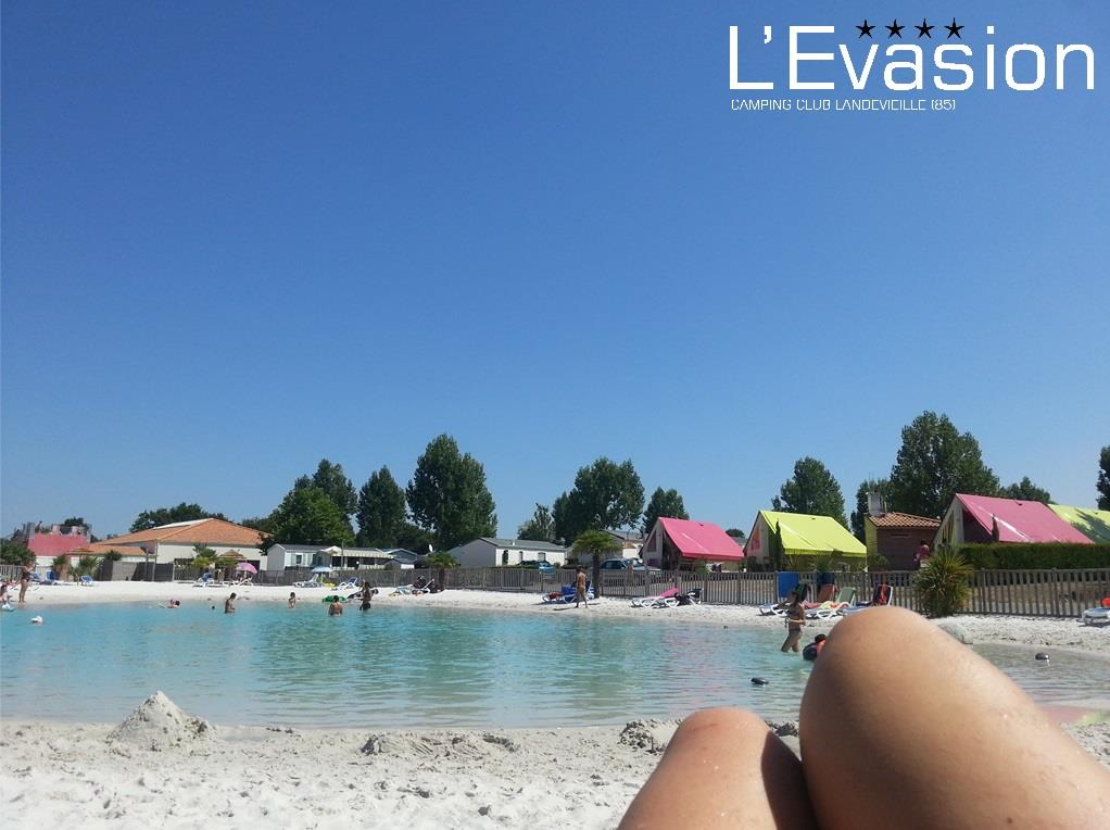 Beaches Camping L'Evasion - Landevieille