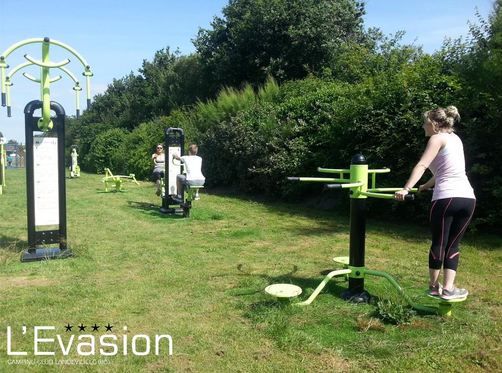 Sport activities Camping L'Evasion - Landevieille