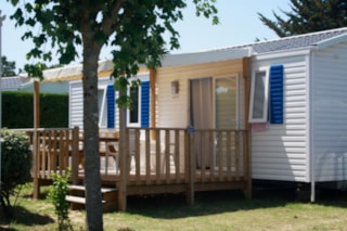 Mobil-Home Grand Confort 3 Bedrooms Half-Covered Terrace + Tv