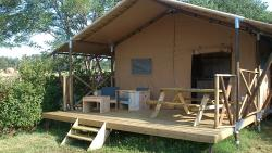 Huuraccommodaties - Tent Lodge Luxe - Camping Las Patrasses