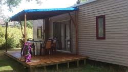 Huuraccommodaties - Cottage Luxe - Camping Las Patrasses