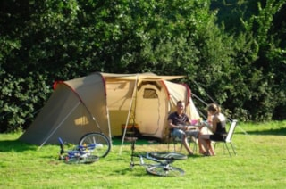 grass tent (only 1) pitch for july and august in natural area
