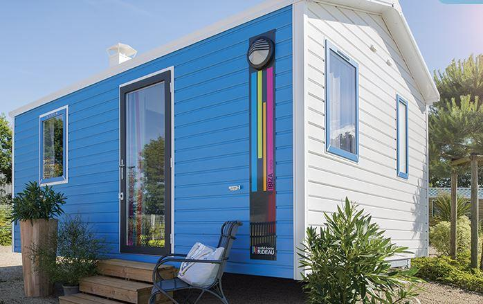 Mobile home   Solo - 1 bedroom / Terrace and TV