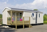 Rental - Mobile home Alizé  - 2 bedrooms / Terrace - Camping Maupassant