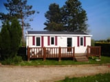 Rental - Mobile home SUPER TITANIA  - 3 bedrooms / Terrace and TV - Camping Maupassant