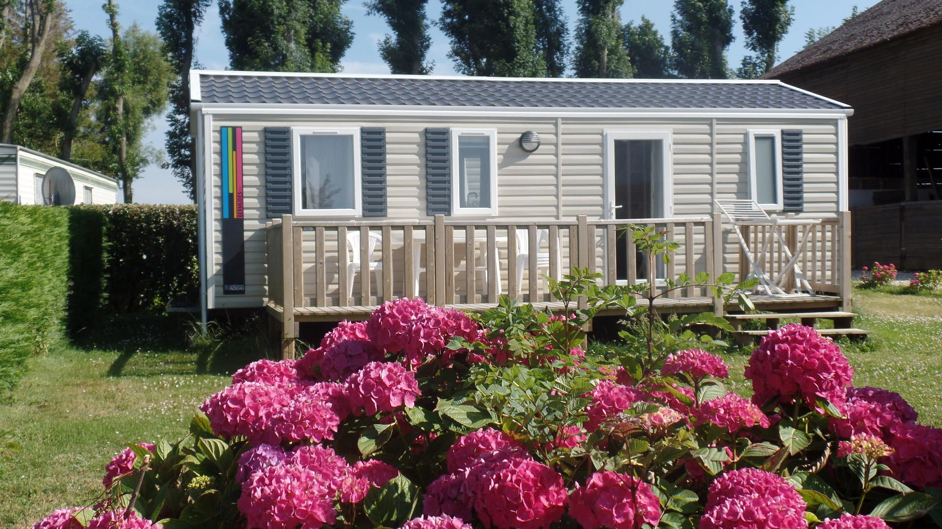 Mobile home Bermudes   - 3 bedrooms / Terrace and TV