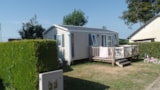 Rental - Mobile home IBIZA  - 2 bedrooms / Terrace and TV - Camping Maupassant