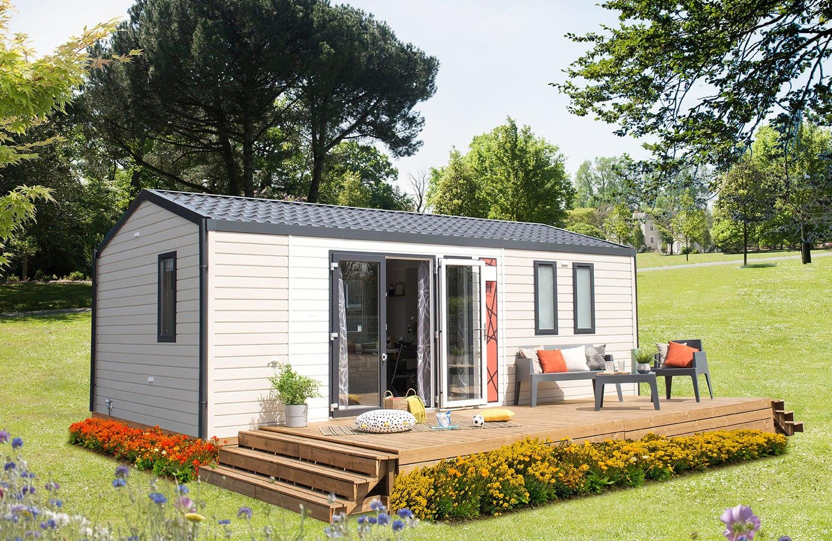 Mobile home Bahia 2 bedrooms / Terrace and TV