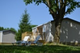 Rental - Cottage 2 Bedrooms 2 Bathrooms - Camping Les Plages de l'Ain