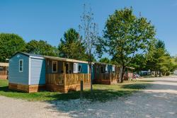Accommodation - Cottage 2 Bedrooms Air-Conditioning - Camping Les Plages de l'Ain