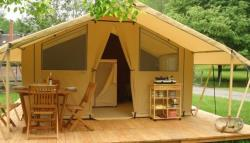Accommodation - Tent With Kitchen - Wheelchair Friendly - Camping Les Plages de l'Ain