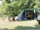 Pitch - Comfort Package (1 tent, caravan or motorhome / 1 car / electricity 6A) - Flower Camping Les Marguerites