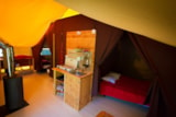 Rental - Canadienne Tent (with Wood stove) - Bivouac nature