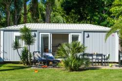 Huuraccommodaties - Sirène 2 Confort (2 Slaapkamers, 33M²) Terras, Airconditioning - Camping L'Hippocampe