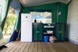 Rental - Navajo Tent 2 bedrooms (without toilet blocks) - Camping Floreal Gossaimont