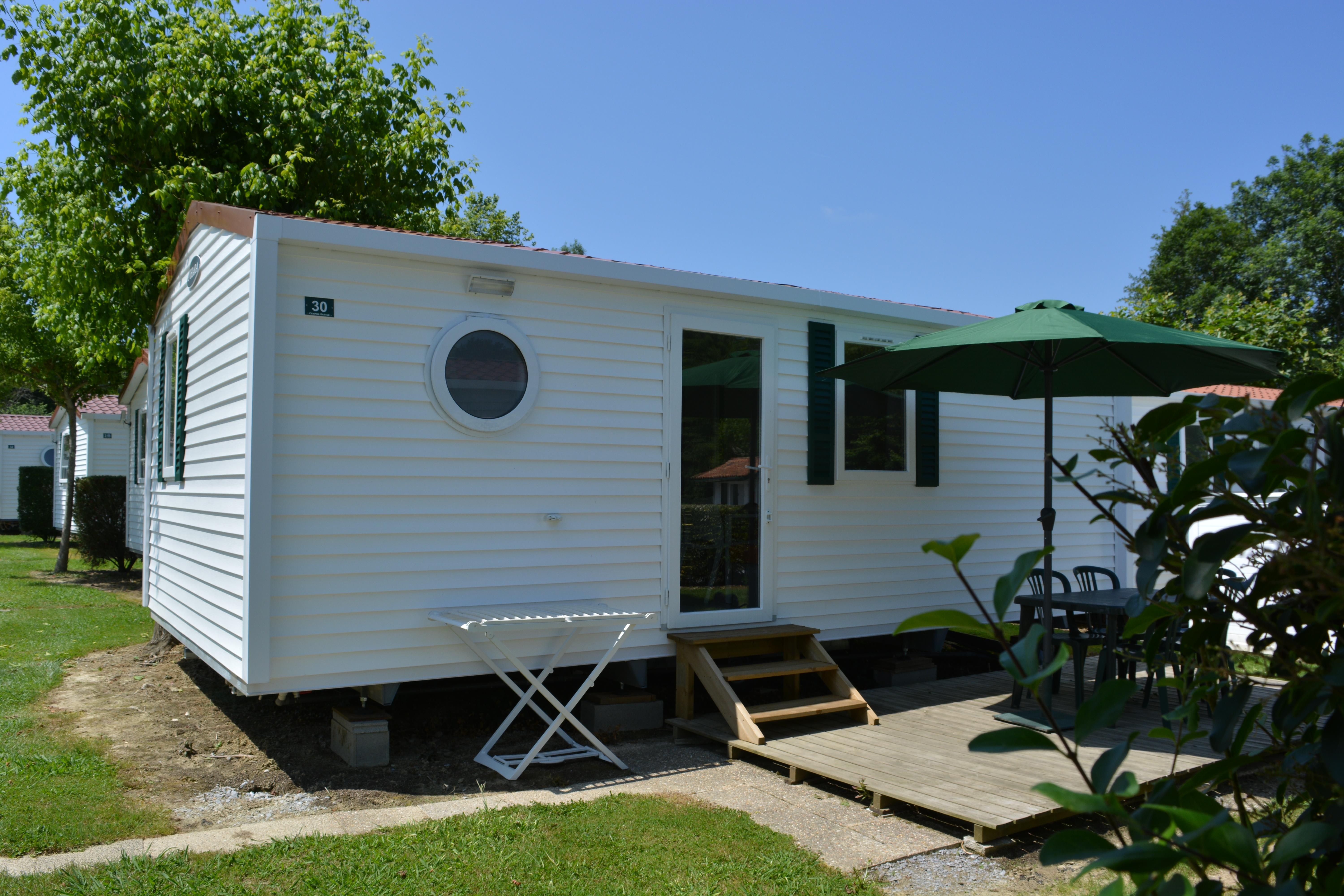 Rental - Mobil-Home + Terrace - Camping Antton