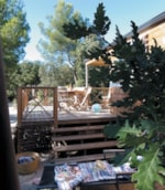Rental - Wood Bungalow (2 Rooms) - Domaine de Belezy