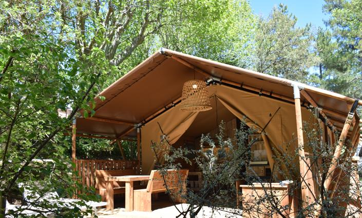 Huuraccommodaties - Safari Tent - Domaine de Belezy