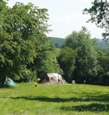 Pitch - Cyclists / Hikers (Without Car) - Camping Le Roptai