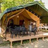 Rental - Safari Lodge Tent (Field) - Camping Le Roptai