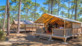 Rental - Tent Lodge 30M² - Camping la Dune Bleue