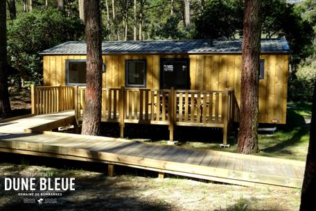 Wheelchair friendly Camping la Dune Bleue - CARCANS
