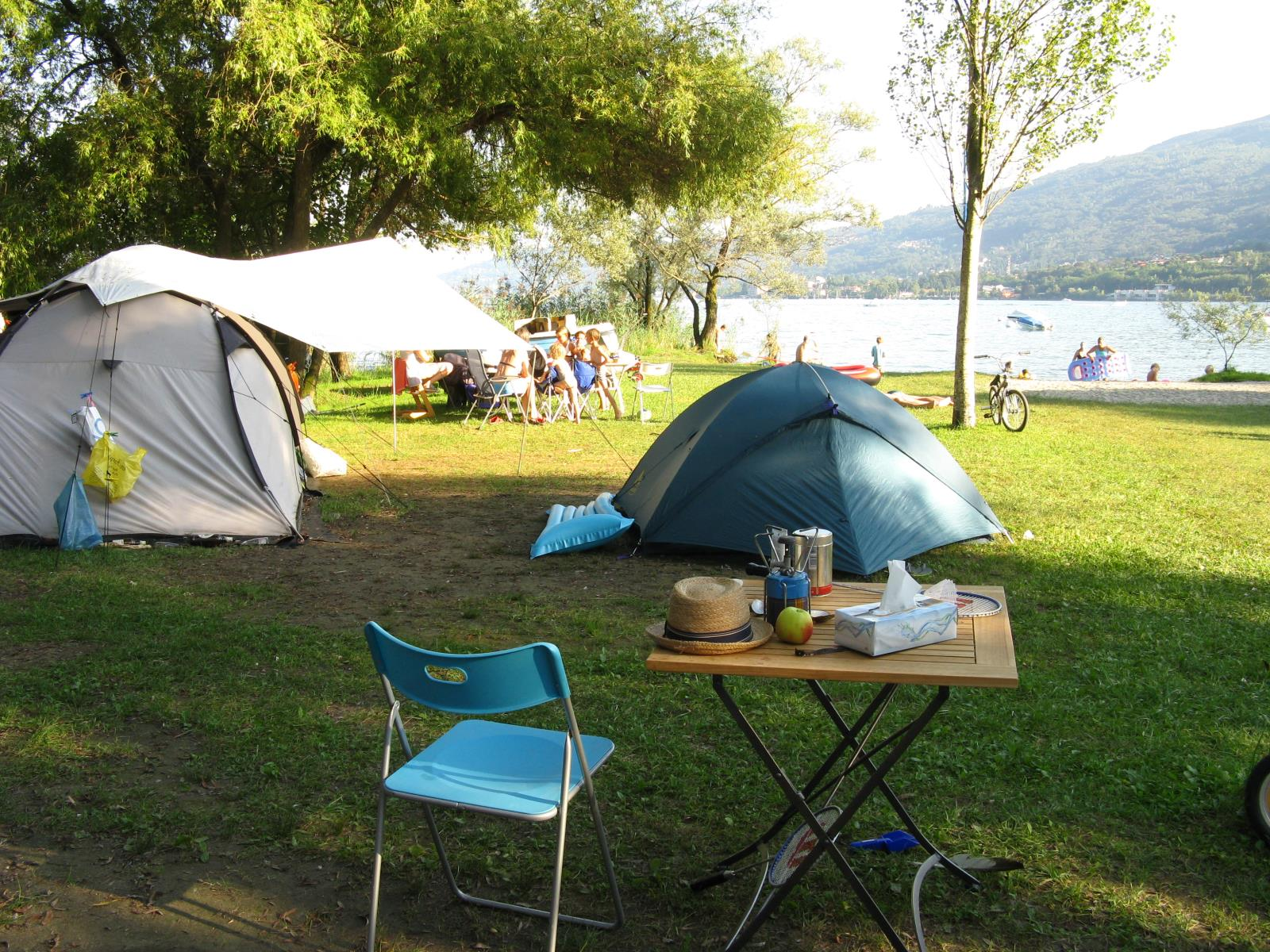Pitch - Package A 4 Nights - Camping Lido Toce