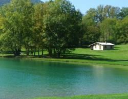 Rental - House  On The Lakeside **** - Au Valbonheur (Camping le Plan d'Eau)